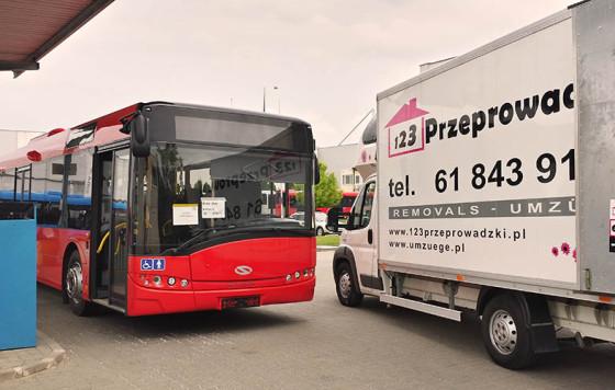 Umzug für Solaris Bus & Coach S.A.